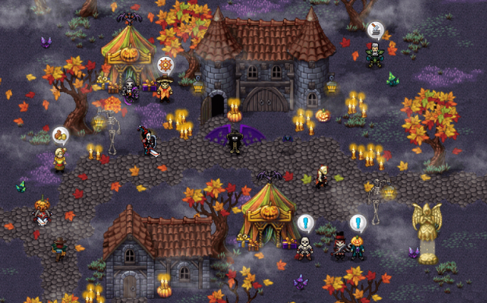 Warspear Halloween Preview