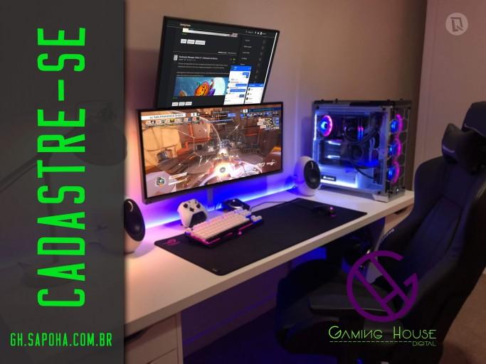 Gaming House Mockup