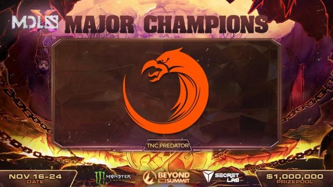 TNC Predator Campeões MDL